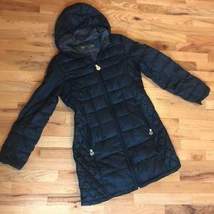 Michael Kors Black Packable Down Coat - medium